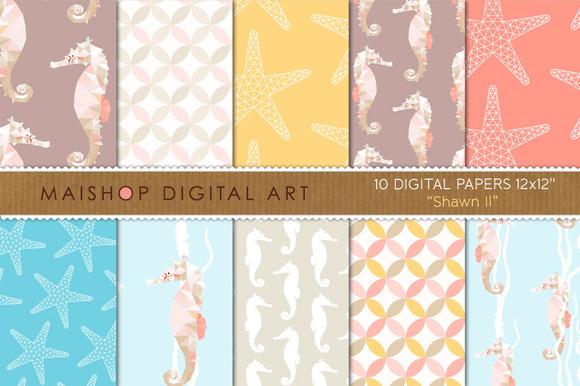 Digital Paper-Shawn II
