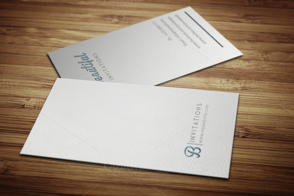 Letter Press Business Card
