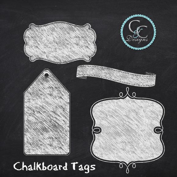 Chalkboard Tags