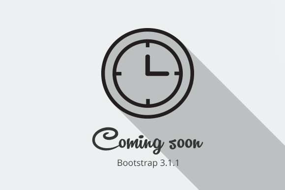 Coming Soon Bootstrap Theme