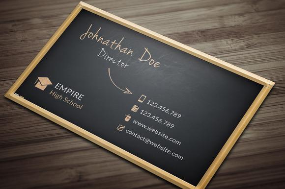 BlackBoard Business Card