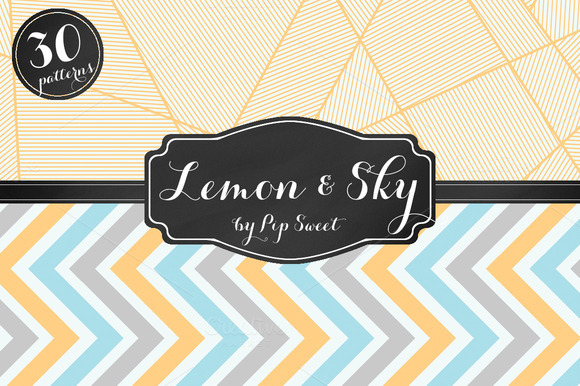 Lemon Sky 30 Pattern Set