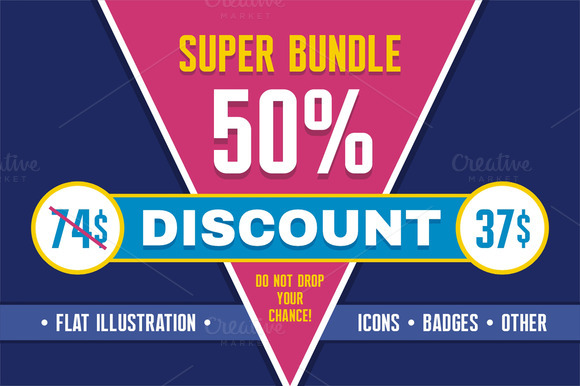Super Bundle 50% Discount