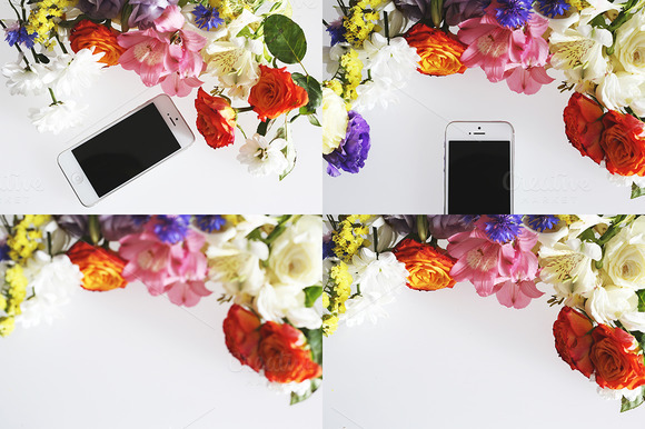 20 Flower Coffee And Sweets Header