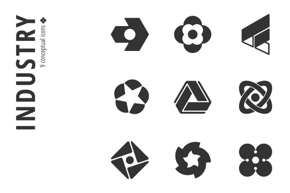 Industry Icon Set Ўн2