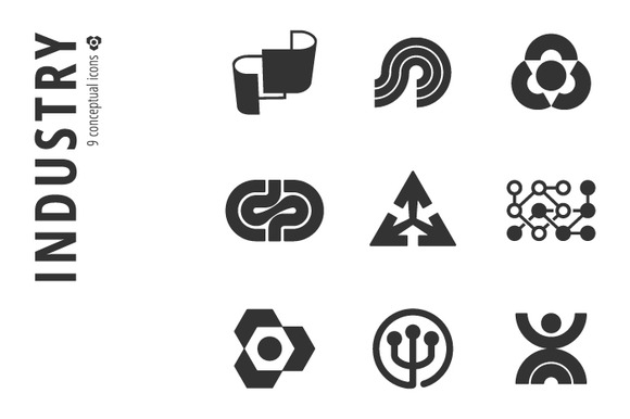 Industry Icon Set Ўн3