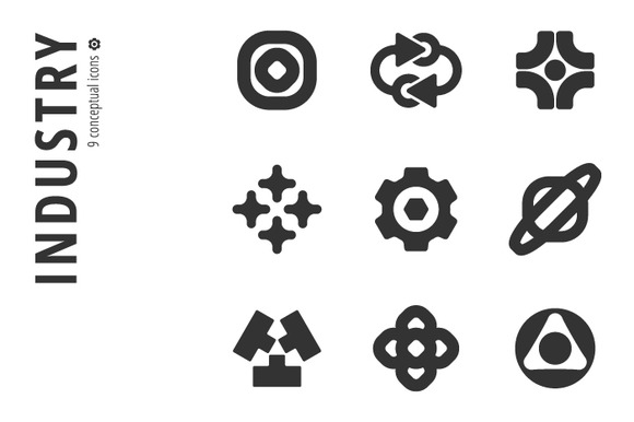 Industry Icon Set Ўн4