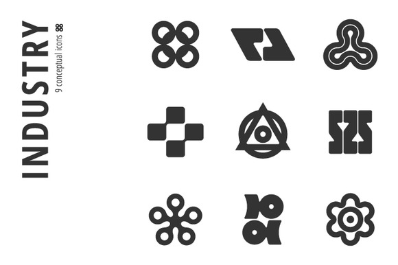Industry Icon Set ��5