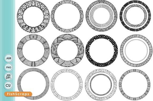 Circle Frame Free Vector Art - (17972 Free Downloads)