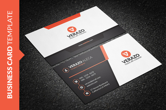 Sleek And Modern Business Card » Designtube