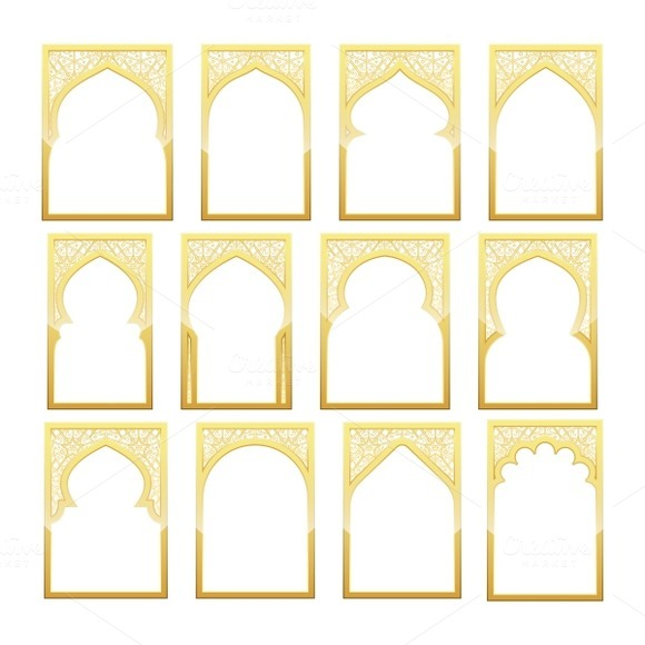 Template free after effects download eid ramadan for Window design template