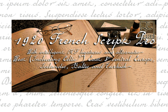 1920 French Script Pro OTF