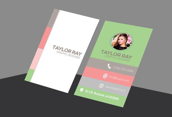 Taylor Printable Business Card