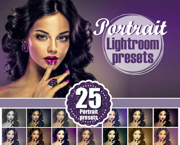 25 Portrait Bride Lightroom Presets