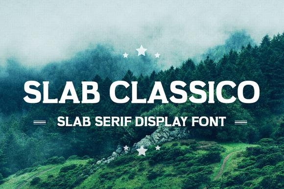 Slab Classico Vintage Serif Slab