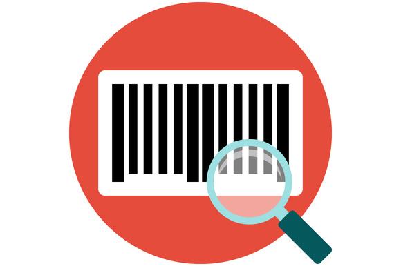 Identification Barcode Flat Icon