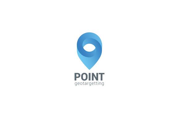 Logo Location Pin Map Geo Navigation