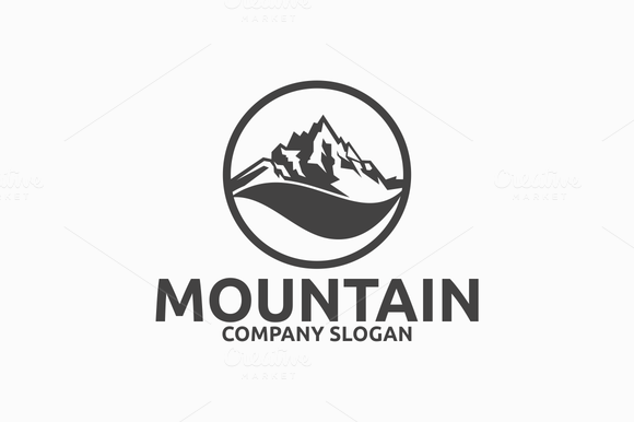 restaurant with yellow sun and green mountain logo joy