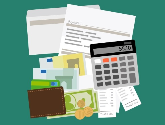 Payroll Salary Payment Concept