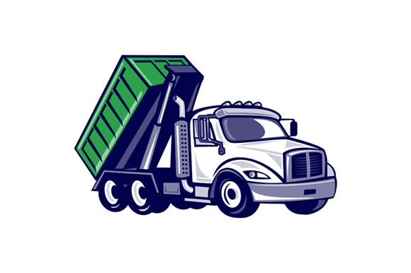 Free Container Truck Model Sketchup 187 Designtube  : roll off bin truck side isoprvw f from www.designtube.org size 580 x 386 jpeg 42kB