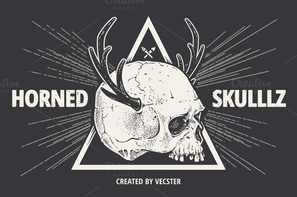 Horned Skulllz