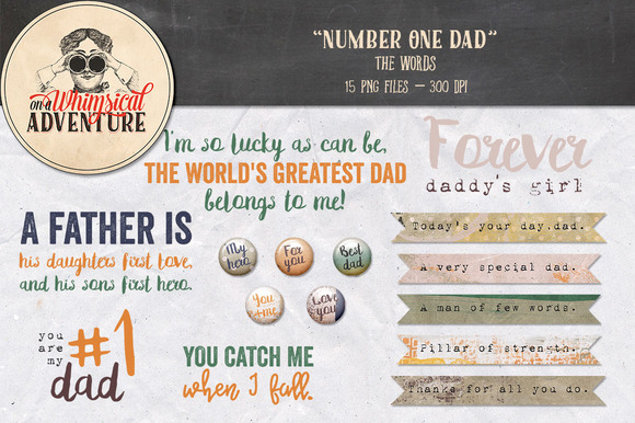 On Sale Father's Day Words