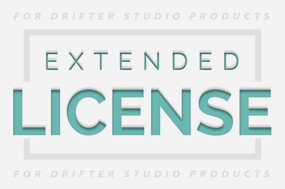 Extended License For DrifterStudio