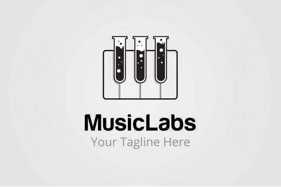 Piano Labs Logo Templates