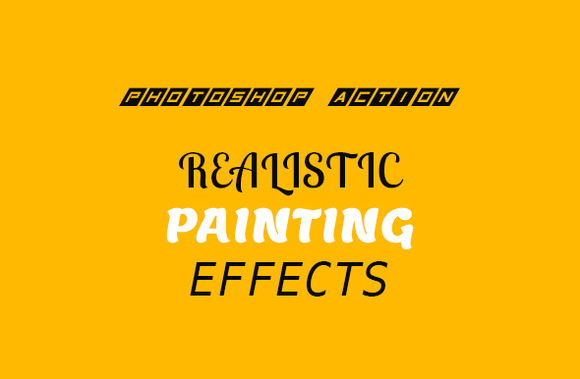 Realistic Painting Effect Action