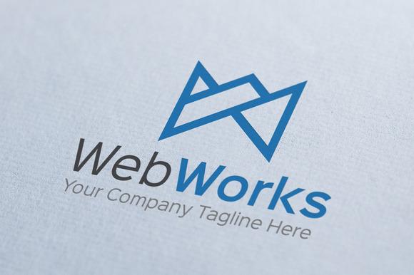 Web Works Logo Template