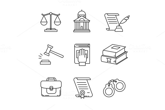 Legal Law Lawyer And Court