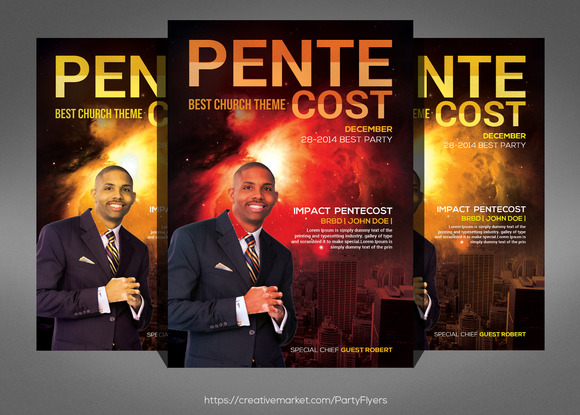 Pentecost Church Flyer