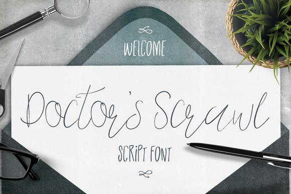 Doctors Scrawl Script Font