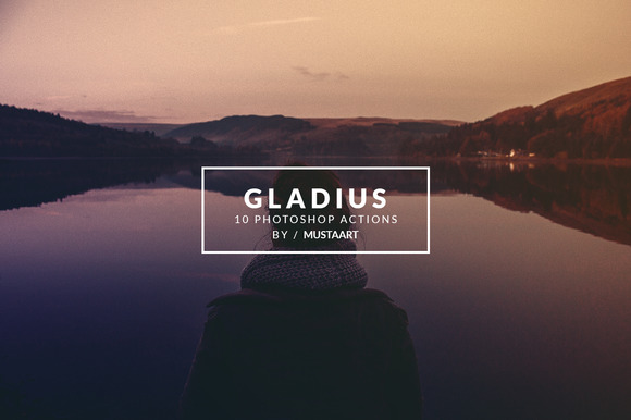 Gladius Photoshop Action