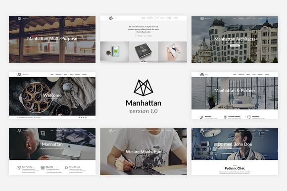 Manhattan Multi-Purpose HTML5