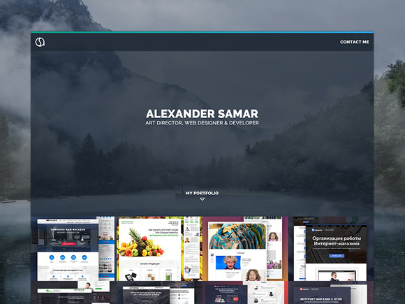 Portfolio Website HTML