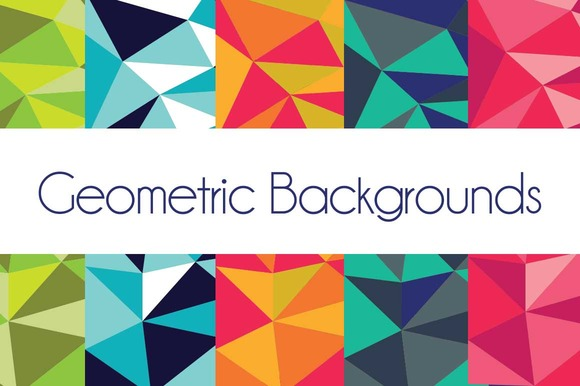 Geo Triangle Backgrounds