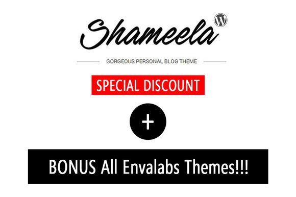 Shameela 50% OFF Bonus All Theme