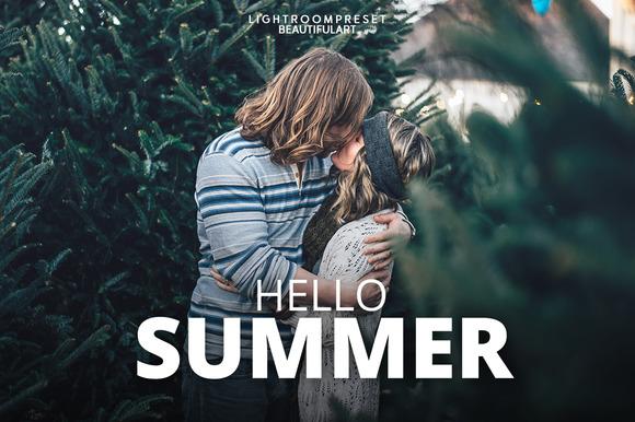 Hello Summer Lightroom Presets