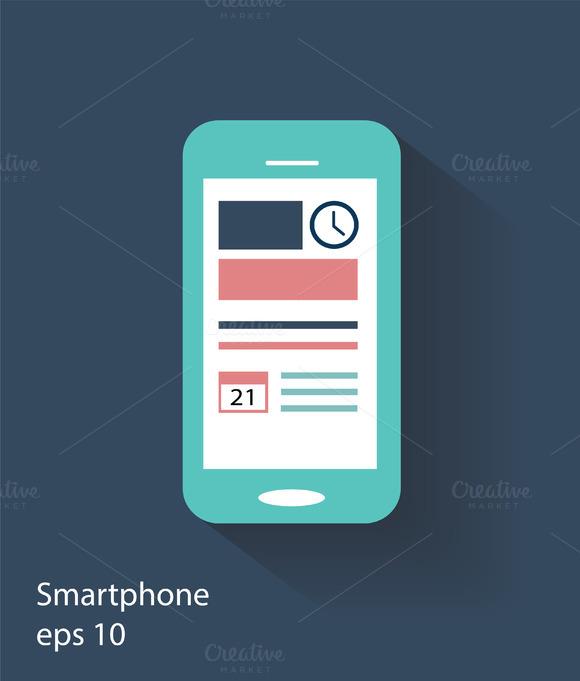 Smartphone Material Design