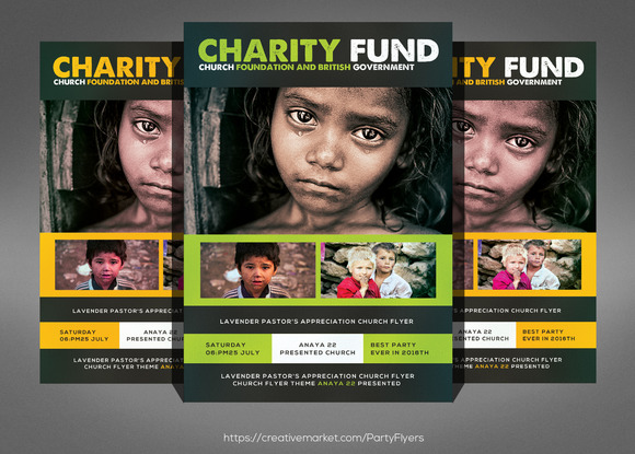 Flyer Template – Donation Flyer Template