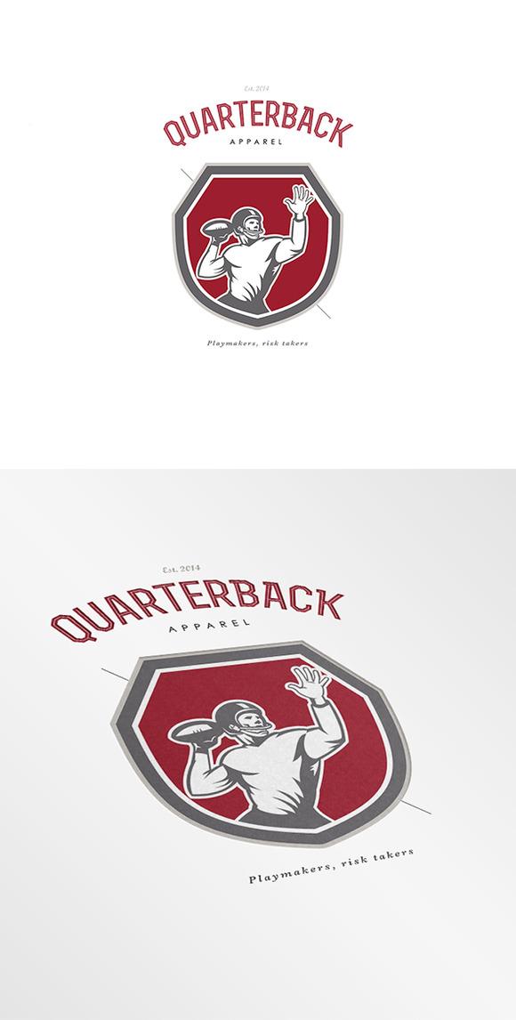 Quarterback Apparel Logo