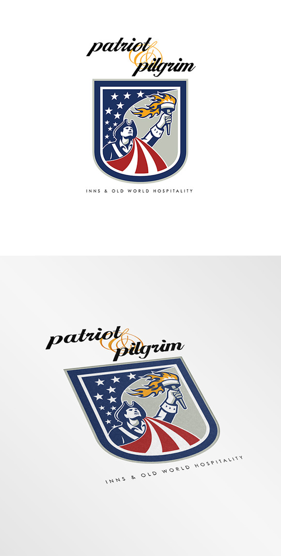 Patriot And Pilgrim Inn Logo