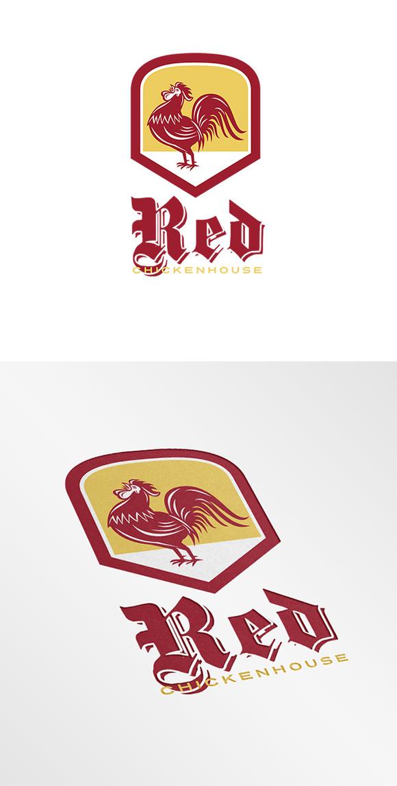 Red Chicken House Logo