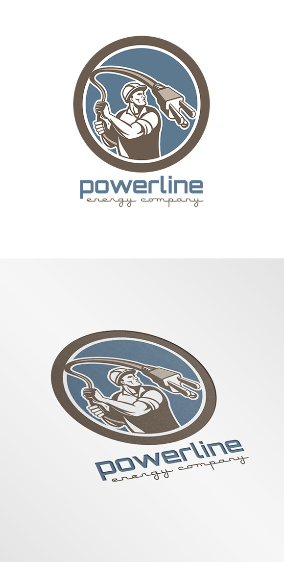 Powerline Energy Company Logo
