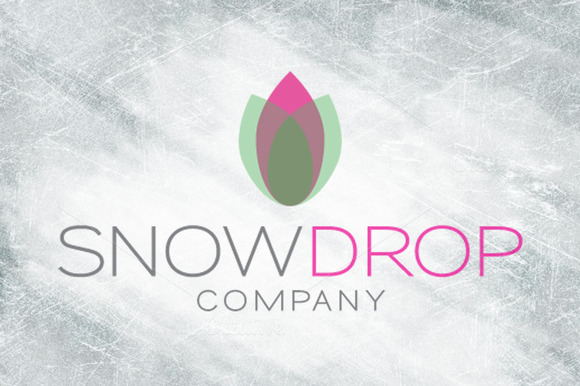 Snow Drop Logo