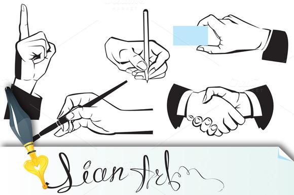 Hands Different Gestures