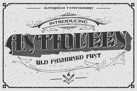 Antiqueen Typeface