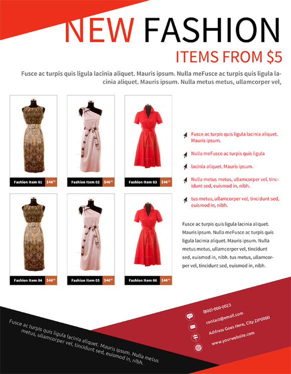Fashion Product Flyer