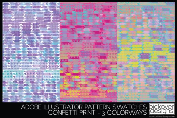 Confetti Print Swatches